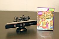 Microsoft Xbox 360 Kinect Connect Sensor Bar with Game Bundle Model 1414