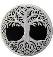 Tree of Life Biker Embroidered Badge Iron on and Sew on