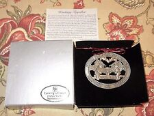 Hampshire Pewter WORKING TOGETHER FROM PEOPLE TO PEOPLE 2009 Ornament New Box