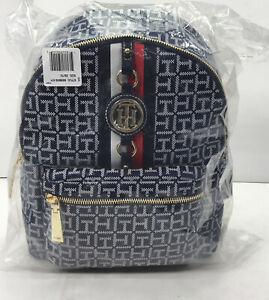 Tommy Hilfiger - Women's Backpack, Navy & White