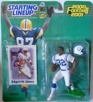 2000  EDGERRIN JAMES - Starting Lineup - SLU - Sports Figurine - Indian. Colts