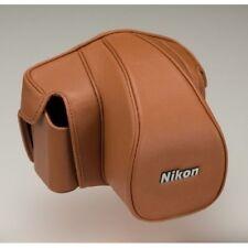 Nikon Semi Soft Case CF-DC6 Brown for Single-Lens Reflex Camera Df Japan new .