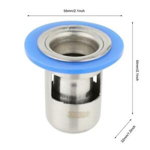 Stainless Steel Shower Floor Drain Bathroom Drainage Gully Core Thicken