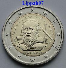 Italië speciale 2 euro 2014 Galileo Galilei UNC