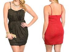 Cotton Blend Stretch, Bodycon Little Black Dresses