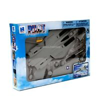 F-14 Tomcat Naval Fighter Aircraft Twin-Engine New-Ray 1:72 Sky Pilot Model Kit