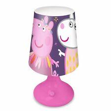 Lampe de table Peppa Pig et sa COPINE Suzy