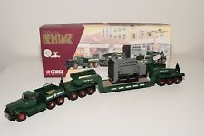 < CORGI TOYS 55303 DIAMOND T980 TRANPORT EXCEPTIONNEL BOURGEY  VN MINT BOXED