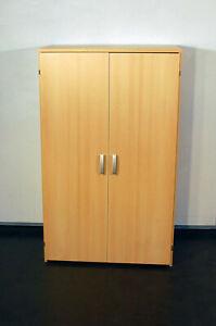 Büroschrank Computerschrank PC-Schrank buche 4094-2