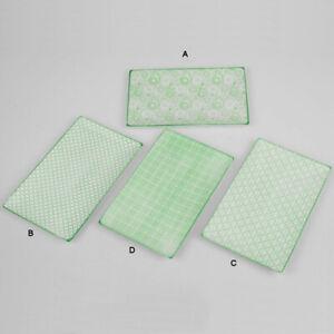 Platte Grün 26x16 cm Porzellan Servierplatte Teller Kuchenplatte 798763 formano