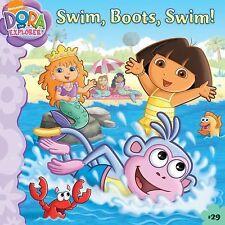 Swim, Boots, Swim! #29 Dora The Explorer Book Phoebe Beinstein (2009)