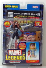 Marvel Legends Spider-Woman variant Avengers Civil War BAF MODOK
