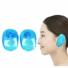 2x Silicone Ear Cover Hair Dye Shield Noise Protector Salon Styling Accessories