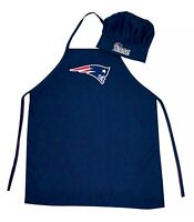 NFL New England Patriots Barbecue Tailgating Apron & Chef's Hat