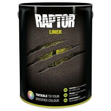 Metallic Black Upol Raptor Bedliner 5000ML. Sparkles In Sunlight. Custom Tint.