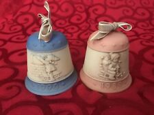 Vintage Goebel Hummel Christmas Bell Collection Bundle (1989 and 1990)