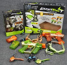 Tiger Electronic LAZER TAG TEAM OPS • 2 Tagger Guns 2 HUD Units 2 Comm Headsets