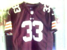 Cleveland Browns Sewn Nike Jersey (Trent Richardson #33) Youth Sz-Large (14-16)