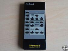 Original AVerMedia Remote Control AVerKey3 for PC/MAC TV Converter ACerKey 3