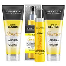 John Frieda Go Blonder Aufhellender Shampoo + Conditioner + Spray Set