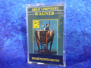 WAGNER Prelude To Act III / Magic Fire + more RARE AUDIO CASSETTE TAPE 1964 #2