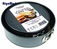 2x Set of Round Non-Stick 7-inch and 8-Inch Spring Form Deep Cake Tins