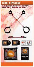 CORE x sistema di base pacchetto portatile DVD Esercizi Fitness Allenamento Totale