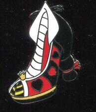 Villain Shoes Heels Mini-pin Set Queen of Hearts Disney Pin 97738
