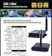 CWL-1-MINI MPEG 4 ENCODING PRO AV WIRELESS TRANSMITTER+RECEIVER AUDIO VIDEO TXRX
