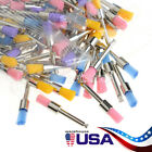 5 X Dental Nylon Materials Closure Flat Polishing Polisher Prophylaxis Brushes