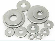 100pcs M5*12*1   304 stainless steel gasket Thin metal thickening flat washer