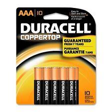 """Duracell Coppertop Alkaline Batteries, AAA, 10Pack, PK - DURMN2400B10Z"""