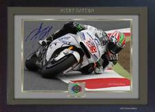 Nicky Hayden autograph print signed photo picture FRAMED (MDF) 006