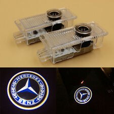 2x LED Door Step Courtesy Welcome Shadow Projector Laser Light for Mercedes CLA
