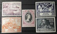 Selangor, 1949, UPU, MNH