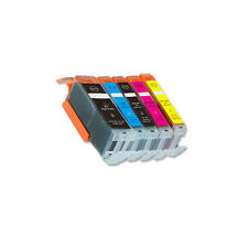 5 PK Printer Ink Set + chip fits Canon PGI-250 CLI-251 XL MX920 MX722 MG6420
