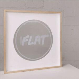 "CJ Hendry ""Flat White"" Framed Edition - Signed Original"