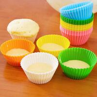 24 x Muffin Förmchen Muffinform Back-Förmchen Silikon Cup Cake Kuchen Set