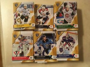 2018-19 KHL SeReal trading cards collection 11 season full base 396 cards set