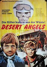 Desert Angels Filmposter A1 The Dirt Gang Biker Paul Carr, Michael Forest Pataki