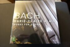 Marie-Claire Alain - Bach : Complete Organ Works [1 (NEW  SEALED 14 CD SET )