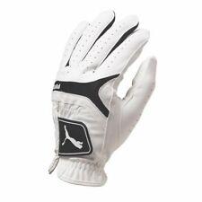 Puma Sport Performance Player's Glove (Mens, LEFT, White/Black) Golf NEW