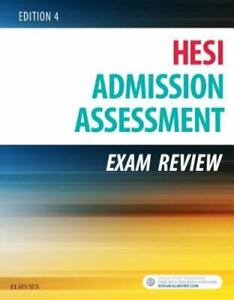 HESI Admission Assessment Exam Review Edition 4 Paperback
