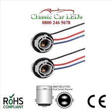 Titular de la bombilla 2x BAY15D doble contacto Offset Pin detener la cola Brakelight GLB380 1157