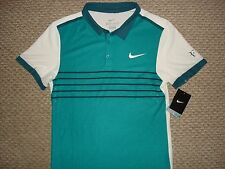 NWT Nike Federer RF 2015 Open Advantage Premier Tennis Polo Shirt 709504-309 S