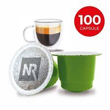 100 Capsule Caffè 100% Compatibili cialde NESPRESSO Aroma caffe Espresso Bar
