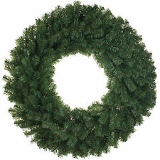 60cm Classic Green Christmas Party Pine Wreath Door Wall Decoration