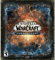 World of Warcraft: Shadowlands Collector's Edition (PC, 2020)
