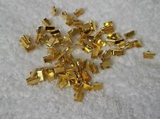 90 Gold Plated NECKLACE Tips ENDS 10mm x 5mm