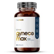 Gynecomax Man Boob 60 Capsules   Chest Firming Supplement   Mens Vitamins 500mg